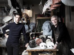 homo faber Philippe Tabet and Sergio Boldrin of Bottega © Laila Pozzo per Doppia Firma - MFCC, FCMA, Living copy